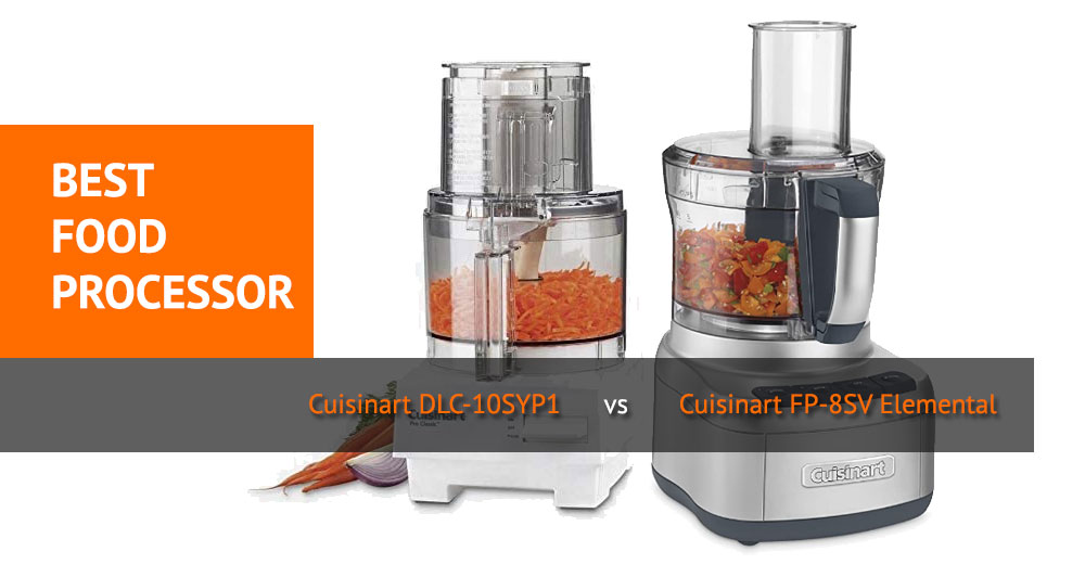 Best Food Processor - Cuisinart DLC-10SYP1 vs Cuisinart FP-8SV Review and Comparison