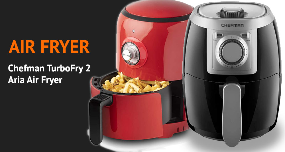Chefman TurboFry 2 vs Aria Air Fryer Review and Comparison