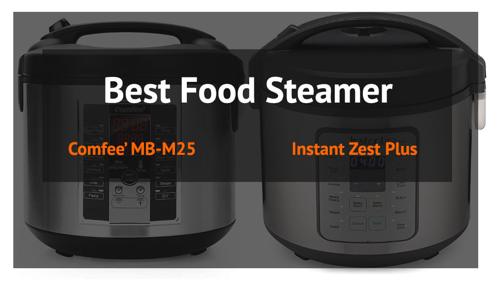 The Best Food Steamer - Instant Zest vs Comfee