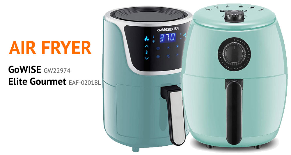 The Perfect Air Fryer - GoWISE GW22974 vs the Elite Gourmet EAF-0201BL
