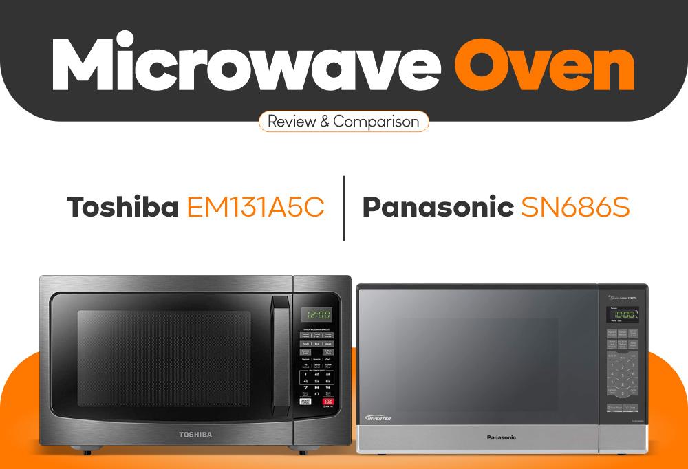 Best Microwave Oven - Toshiba EM131A5C vs Panasonic SN686S