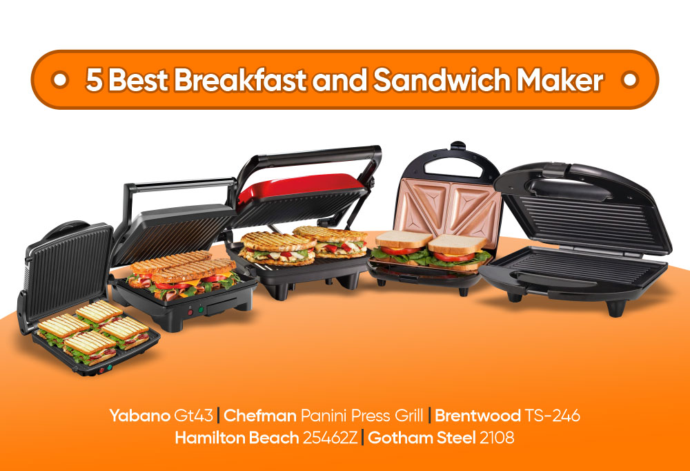 5 Best Breakfast and Sandwich Maker