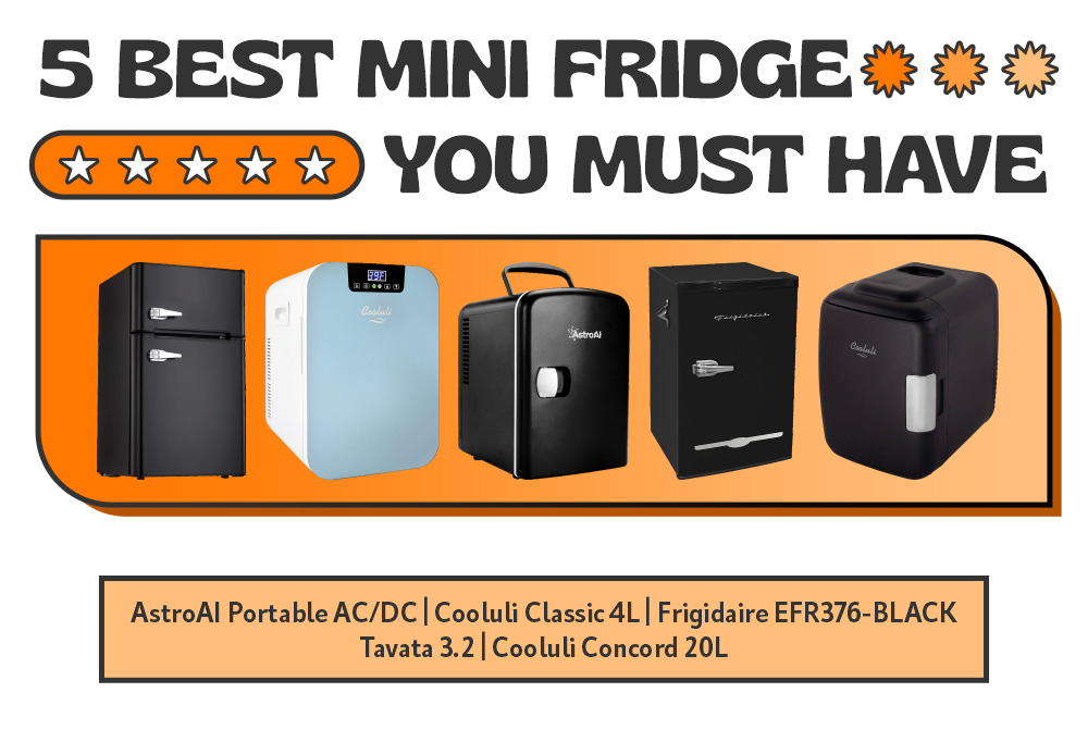 5 Best Mini Fridge You Must Have