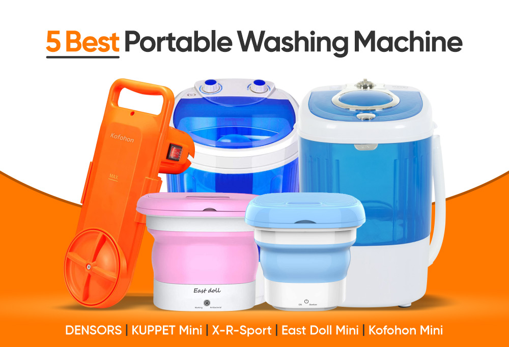 5 Best Portable Washing Machine and How It Simplify Your Life