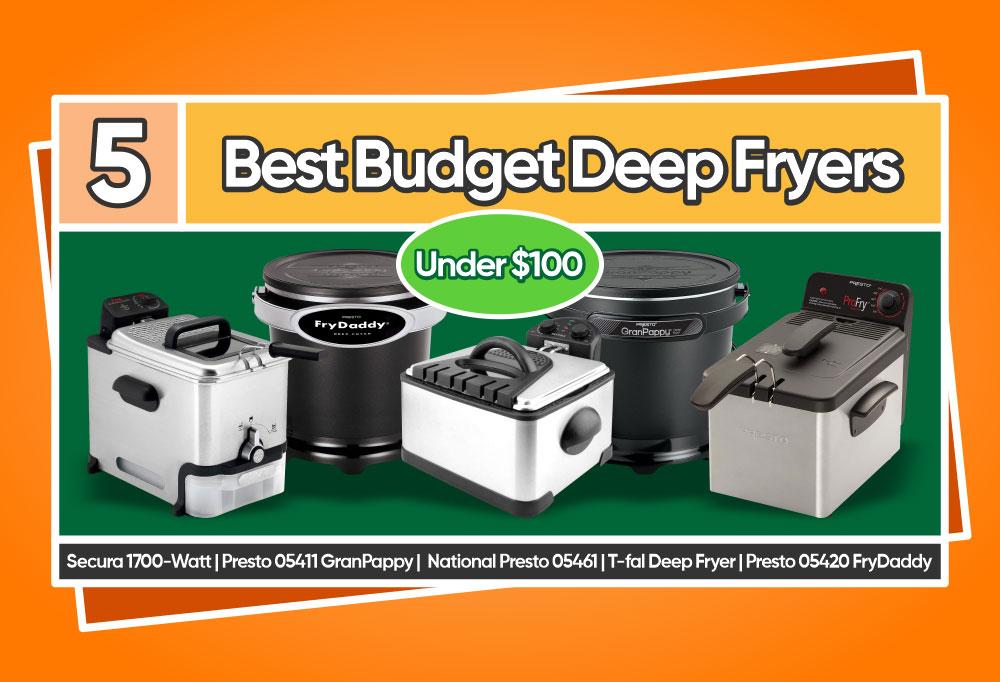 5 Best Budget Deep Fryers Under $100